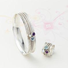 Mystical Treasure Spinning Ring and Bangle