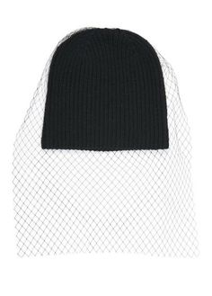 Bonnet en laine  Noir by CLAUDIE PIERLOT
