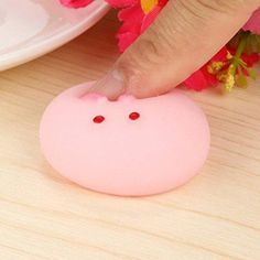 Leegor Cute Mochi Squishy Panda Squeeze Healing Fun Kids Kawaii Toy Stress Reliever Decor Child Xmas Gifts (B)