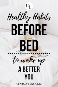 Healthy habits before bed to wake up a better you. Implement these habits into your everyday routine to see the lasting positive effects on your life. lifestyle lifestyle fitness lifestyle healthy habits lifestyle ideas lifestyle tips Evening Routine, Night Routine, Good Habits, Healthy Habits, Self Development, Personal Development, How To Better Yourself, Improve Yourself, Ways To Wake Up