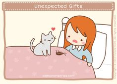 Unexpected gifts. Gif!