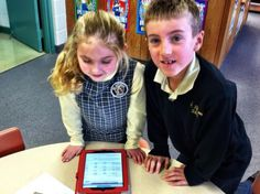 Library Lessons Using iPads  First Attempts