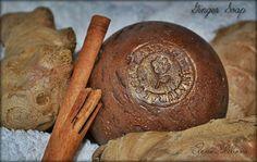 Имбирное шампуневое мыло с корицей