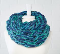 Loops & Threads® Cozy Wool™ Arm Knit DIY Cowl