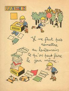 """Le jour même ~"""" 30 proverbes pour les Enfants"""", par Henri Monier~"""
