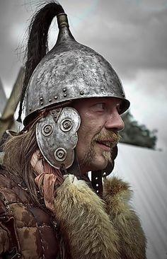Neustadt Gleve, Reenactment: Gallic warrior