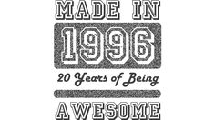 Made in 1996 is a Tank Top designed by Es35Design to illustrate your life and is available at Design By Humans