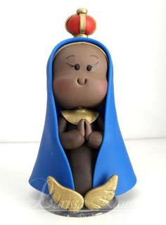 Nossa Senhora Aparecida  by Larissa Kanso