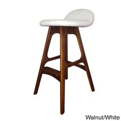 With a sturdy timber frame and leather upholstery, this faux leather counter stool is of the highest quality which is reflected in its durability. The upholstery is filled with dense foam for comfort.