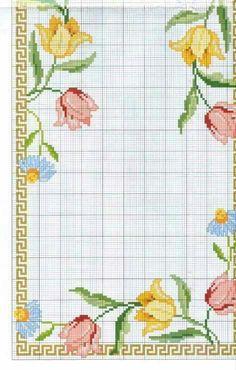 ru / Foto nº 52 - 334 - Cross Stitch Heart, Cross Stitch Borders, Cross Stitch Flowers, Cross Stitch Designs, Cross Stitching, Cross Stitch Embroidery, Embroidery Patterns, Hand Embroidery, Cross Stitch Patterns
