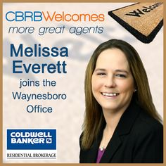 Melissa Everett has affiliated with our Waynesboro office...