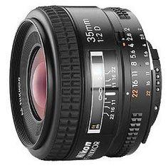 NIKON - Nikon 35mm f/2D AF Wide-Angle Nikkor Lens for Nikon 35mm and Digital SLR Cameras