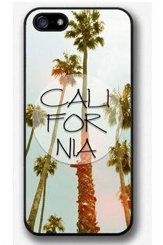 iPhone 4 4S 5 5S 5C case, iPhone 4 4S 5 5S 5C cover, California