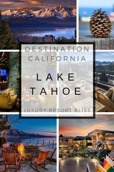 The Best Lake Tahoe Resorts, Lodgings, and Hotels Best Family Ski Resorts, Best Resorts, Hotels And Resorts, Best Hotels, Luxury Resorts, Luxury Spa, Lake Tahoe Resort Hotel, Tahoe Hotels, Lake Tahoe Resorts
