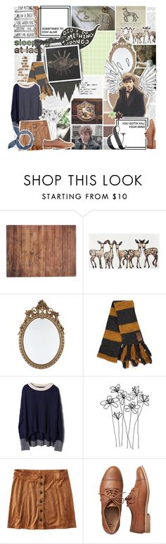 """""""And if you are still bleeding then you are the lucky ones. Because most of our feelings they are dead and they are gone. // Newt Scamander // Hufflepuff // Fantastic Beasts and Where to Find them"""" by saffire9975 ❤ liked on Polyvore featuring Zephyr, Typhoon, Citizens of Humanity, WALL, American Eagle Outfitters, Gap and Old Navy"""