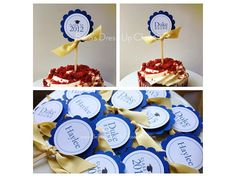 12 DELUXE PERSONALIZED Graduation Cupcake by BellasDressUpCloset, $16.95