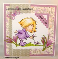 Don & Daisy Marianne Design, Creative Cards, Daisy, Card Making, Girly, Stamp, Flowers, Anime, Crafts