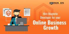 Hire Magento developer for your online business growth Customer Engagement, Web Development, Mobile App, Ecommerce, Online Business, Web Design, Knowledge, Challenges, Platform