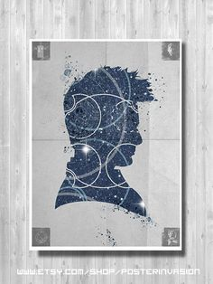 Dr Who poster trio set Original Dr Who 3 prints by PosterInvasion