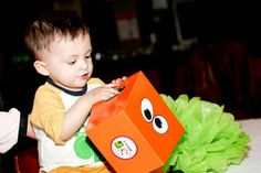 Lucas's 1st Birthday Party | CatchMyParty.com