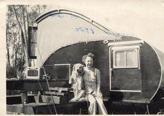 Cool old pop up camper