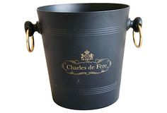 French Charles de Fere Champagne Bucket | One Kings Lane