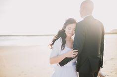 Um casamento com pé na areia