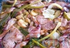 Beef Recipes, Potato Salad, Sausage, Bacon, Curry, Pork, Potatoes, Chicken, Meat