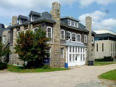 Taft Hall at the University of Rhode Island in West Kingston, RI