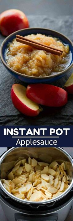 It's simply not the holiday without applesauce and this Instant Pot recipe takes only 30 minutes to make! 143 calories and 1 Weight Watchers SmartPoint