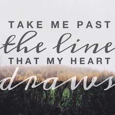 Rend Collective.  Take me past.