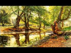 Peder Mønsted - Landscapes (Oil Paintings)