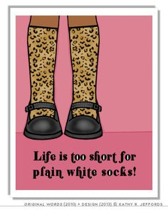 Nothing is further from the truth. Try wearing some socks with color, patterns and designs. You'll feel a spring in your step! #inspiration #funsocks #realestate #pasadena #lacanada #flintridge #fashionista #style #forsale #fashion #socks #clothing