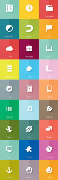 Free Icons for Web and User Interface Design