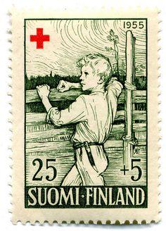 1955 Finland Stamp