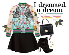"""""""Dreams"""" by gabyidc ❤ liked on Polyvore featuring Neil Barrett, BCBGeneration, Gucci, Dolce&Gabbana and Elizabeth and James"""