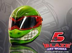 Bandit Helmet Teenage Mutant Ninja Turtle Design