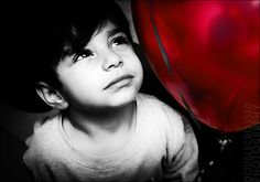 a boy and his red balloon....imagination