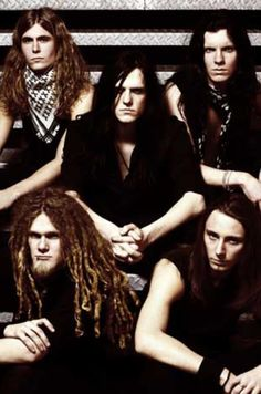 One of my favorite bands...oh, there's frontman Johannes     a/k/a my Swedish lover! Lol