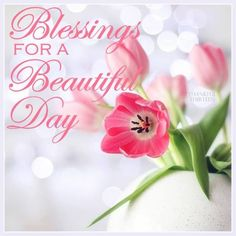 Blessings For A Beautiful Day morning good morning morning quotes good morning quotes morning blessings Good Morning Ladies, Morning Morning, Good Morning Greetings, Good Morning Good Night, Morning Wish, Saturday Morning, Beautiful Day Quotes, Good Day Quotes, Good Morning Quotes