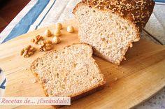 Cómo hacer pan de molde integral con semillas y frutos secos 100% casero