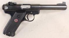 RUGER MARK III TARGET 22LR USED GUN INV 168012