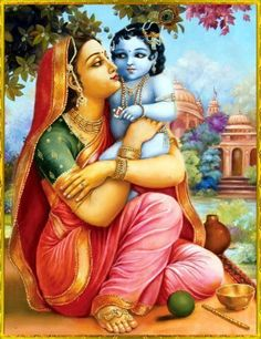 yasodha and krishna