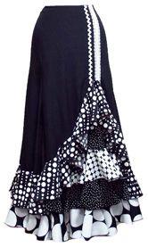 African Print Dresses, African Dress, Flamenco Skirt, Bohemian Skirt, Witch Fashion, Ruffle Skirt, Dress Patterns, Style Inspiration, Argentine Tango