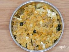 Not all homemade dog food recipes will fit every dog, and more importantly, a pet owner must pay attention to the nutritional value of each dish. These 13 best balanced homemade dog food recipes will be the closest to a healthy doggy meal you can get. Dog Biscuit Recipes, Dog Treat Recipes, Healthy Dog Treats, Dog Food Recipes, Senior Dog Food Recipe, Appetizer Recipes, Free Recipes, Salad Recipes, Cookie Recipes