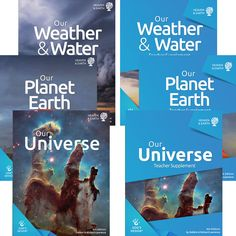 Help your children see God's plan for our planet, our solar system, and our universe with this complete earth and space science curriculum. Explore how God designed the earth to support life from our atmosphere to our oceans. Grades 3–8.
