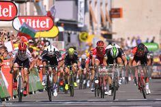 #TDF2017 104th Tour de France 2017 / Stage 16 Arrival / Sprint / John DEGENKOLB (GER)/ Michael MATTHEWS (AUS)/ Edvald BOASSON HAGEN (NOR)/ Greg VAN AVERMAET (BEL)/ Le Puy en Velay - Romans sur Isere (165km)/ TDF /