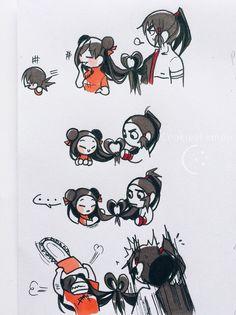 CookieeLemon — I remember, When I apologized to my lover through. Cartoon Drawings, Cartoon Art, Chucky Horror Movie, Character Art, Character Design, Manga Story, Happy Tree Friends, Cartoon Crossovers, Old Cartoons
