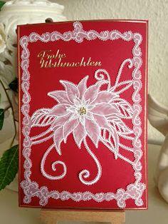 Luises Pergamentkunst und Malereien: WeihnachtssternDie Idee der Gestaltung kam mir bei...