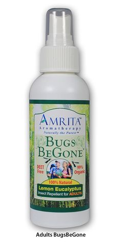 Bugs BeGone by Amrita Aromatherapy-Including Therapeutic Grade Lemon Eucalyptus Essential Oil, DEET-Free Natural Insect Repellent, Non-Toxic Bug Spray:Mosquito, Flea, Tick andChigger Deterrent(SIZE:4oz) => Check out this great image  : home diy garden